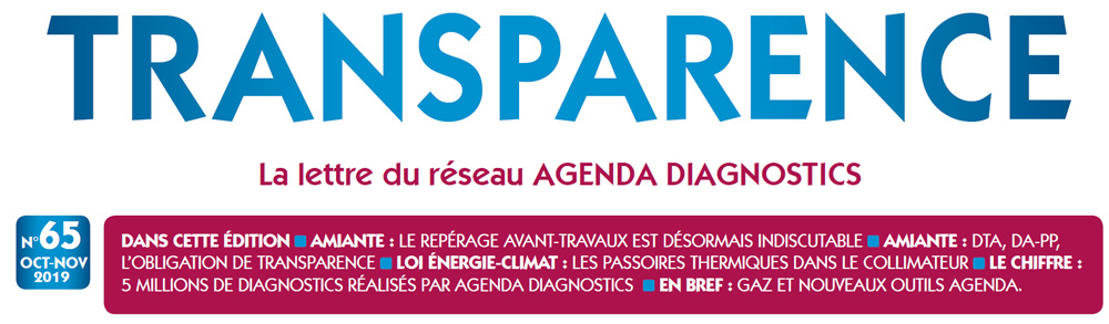 Newsletter Transparence N°65